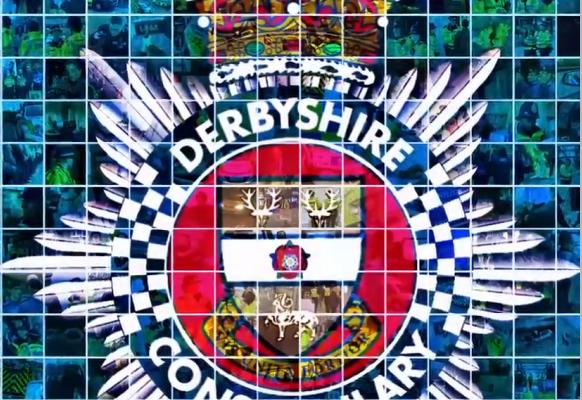 Campaign Nomination PRide Award Derbyshire police logo