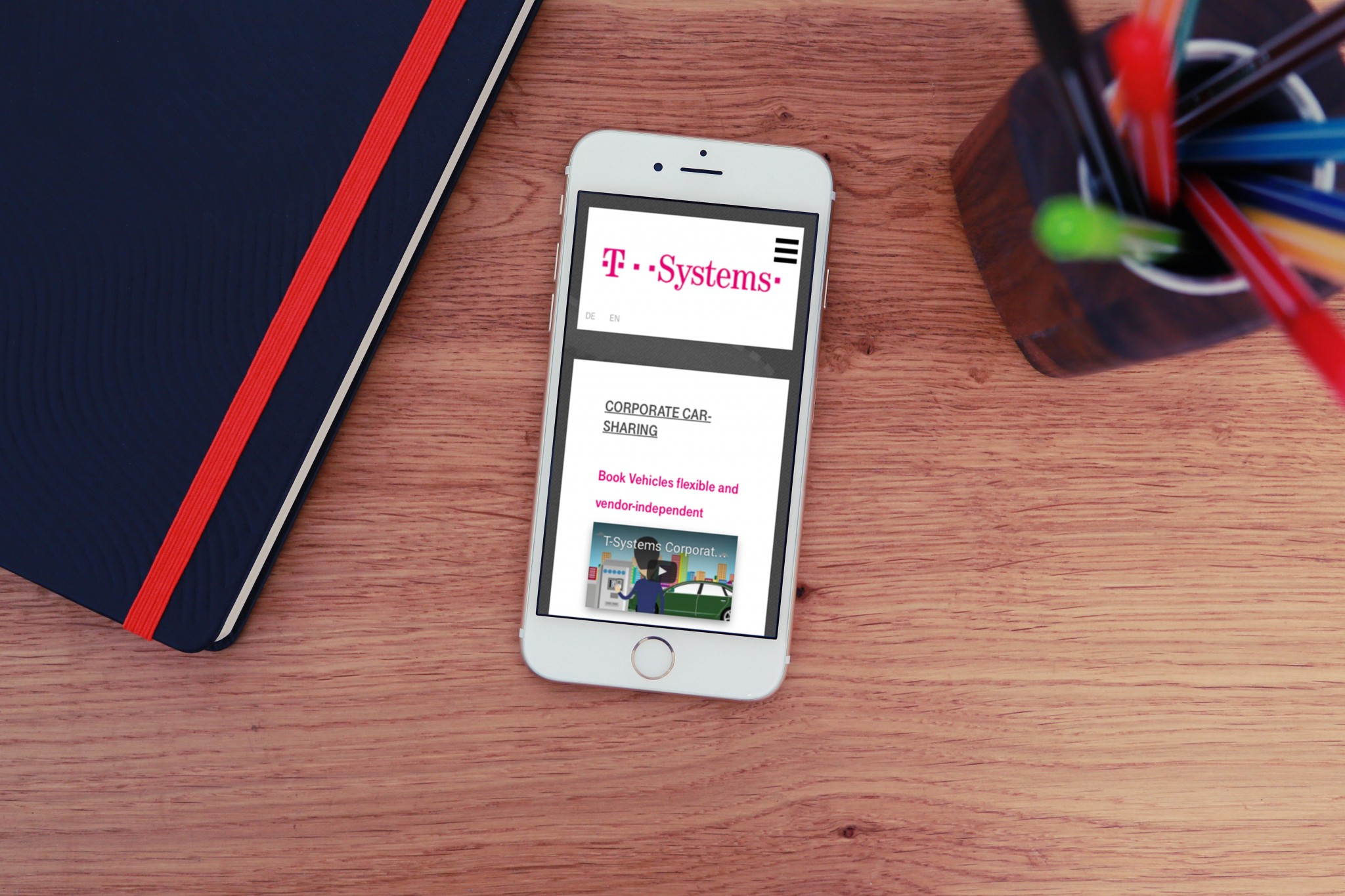 E-Mobility website 4