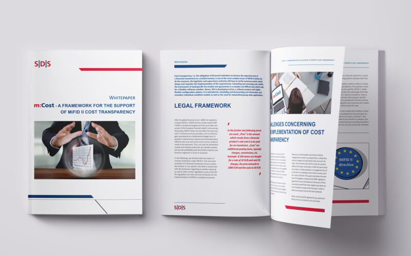 Graphic Design example of a whitepaper