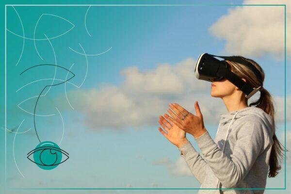 VR image of user