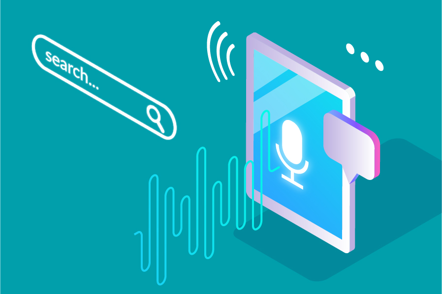 Voice-recognition in marketing part 1 illustration