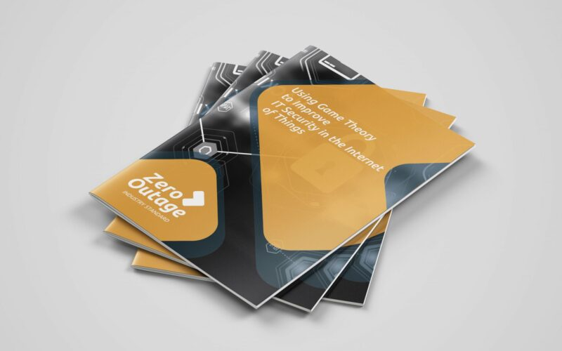 Brochure Design for Zero Outage Industry Standard