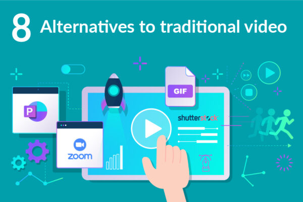 8 alternatives to traditional video